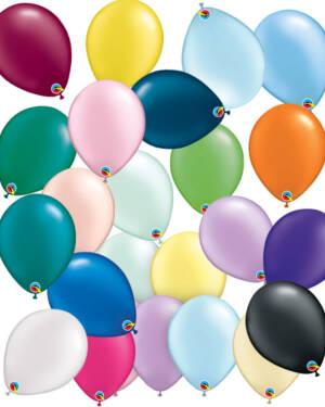 Lateksballonger (100stk): Pearl Tone - 28cm