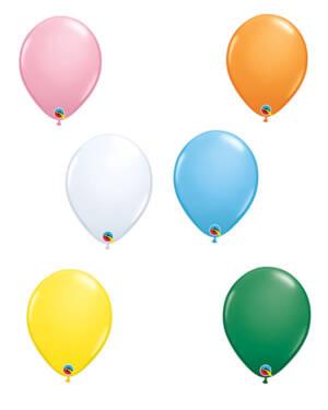 Lateksballonger (100stk): Standard - 28cm