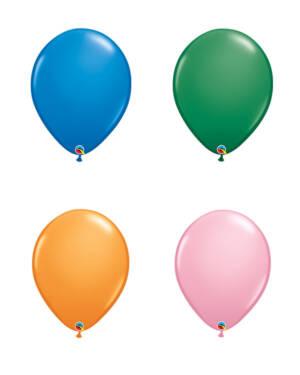 Lateksballonger (50stk): Standard - 41cm