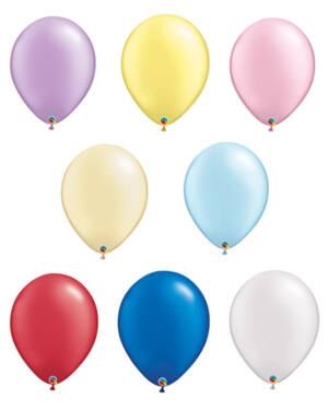 Lateksballonger (50stk): Pearl Tone - 41cm
