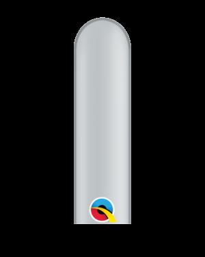 Figurballonger (100stk): Flere Farger (Metallic) - 5 x 150cm Figurballonger (100stk): Silver (Metallic) - 5 x 150cm