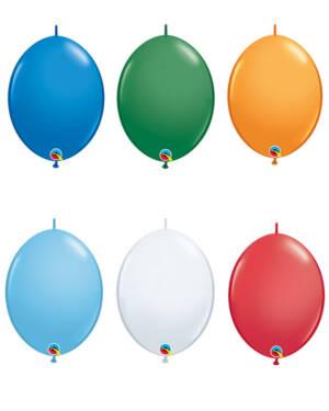 Lateksballonger (50stk): Quick Link - Standard - 15cm