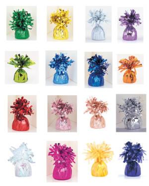 Ballongvekt: Folie - Flere farger - 175g