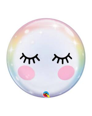 Bubble Ballong: Øyevipper - 55cm
