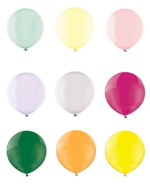 Lateksballong: Metallic - Flere farger - 60cm