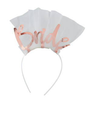 """Hodepynt / Hårbøyle: """"Bride"""" - 24 x 21cm"""