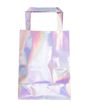Gavepose / Godtepose (5stk): Iriserende - 15x20cm