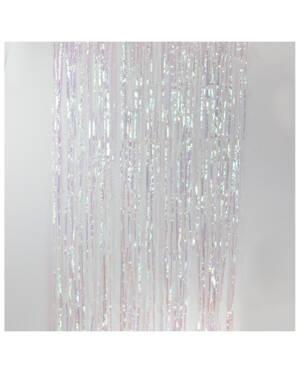 Backdrop: Frynset, 2,45x0,91m - Iriserende