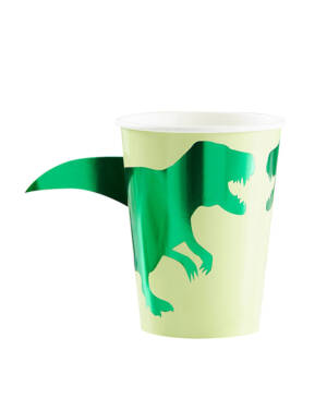 Kopper (8stk): Dinosaurer