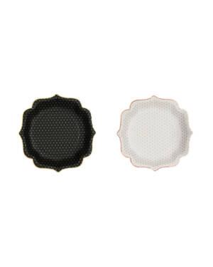 Servietter (20stk): Metallic Stripe - Flere farger - 12,5cm