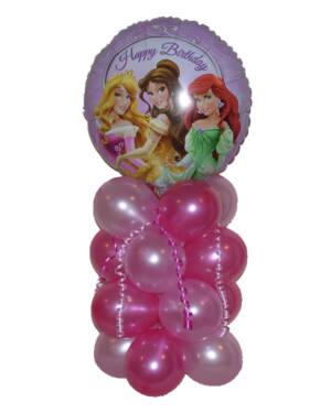 """Borddekorasjon: """"Happy Birthday"""" Prinsesser"""