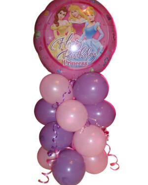 """Borddekorasjon: """"Happy Birthday! Princess"""""""