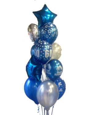 Ballongbukett: A blue Star!!