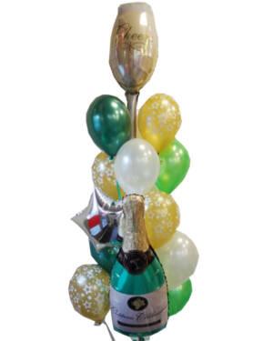 Ballongbukett: Cheers festbukett