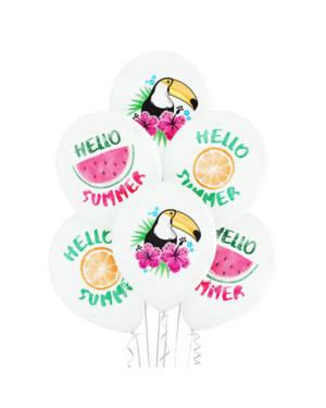 """Ballongbukett: """"Hello Summer"""""""