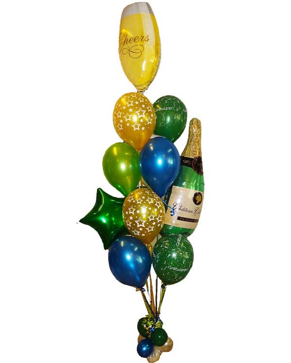 Ballongbukett: Cheers jubileum