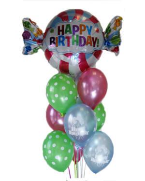 Ballongbukett: Sweet as Candy Birthday