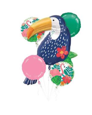 Ballongbukett: Toucan Summer