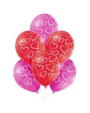 Ballongbukett: Kind Heart
