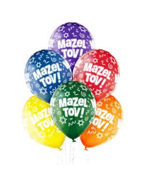 Ballongbukett: Mazel Tov!