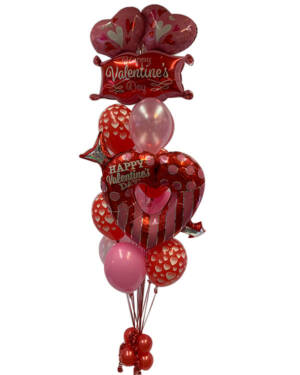 Ballongbukett: My Valentine