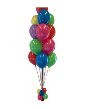 Ballongbukett: Fargemiks