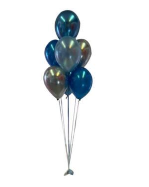 Ballongbukett: Blue Vibes