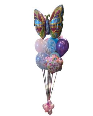 Ballongbukett: Thinking of you - Butterflies