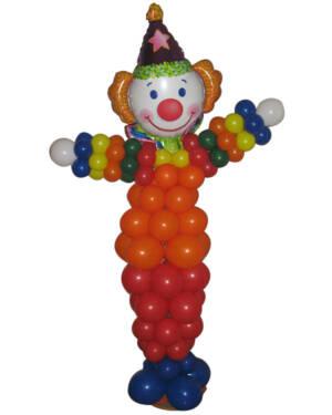 Ballongdekor: Entertaining Clown