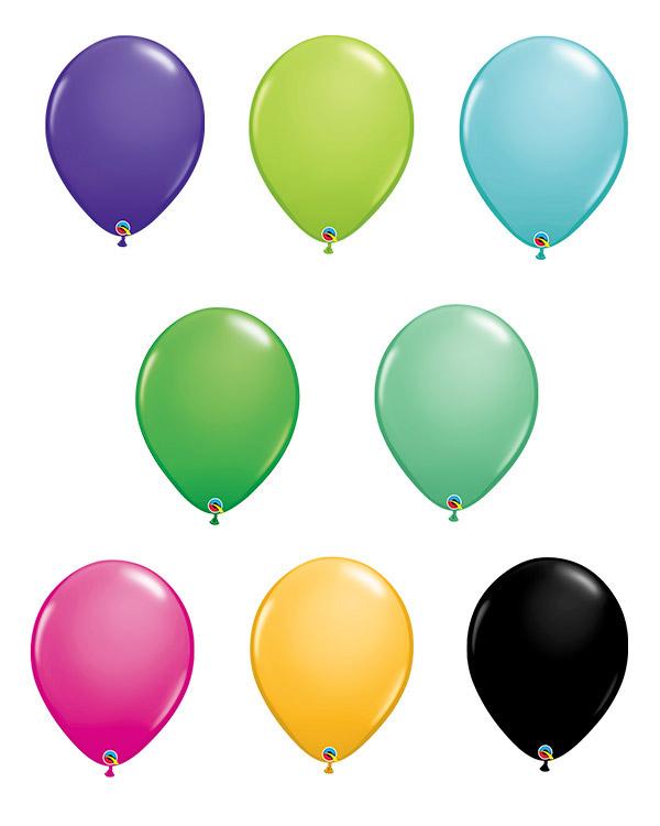 Lateksballong: Fashion Tone - 28cm - Per stk