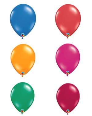 Lateksballong: Jewel Tone - 28cm - Per stk