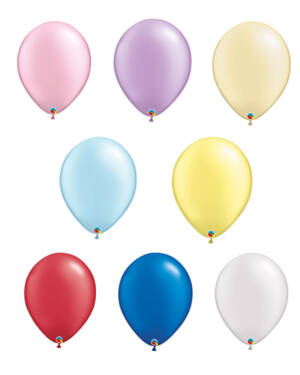 Lateksballong: Pearl Tone - 41cm - Per stk