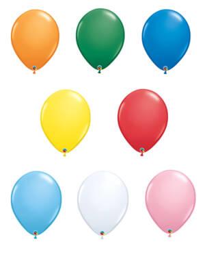 Lateksballong: Standard - 41cm - Per stk