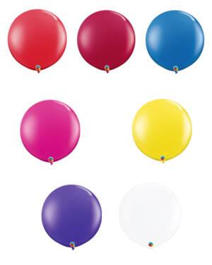 Lateksballong: Flere farger (Jewel Tone) - 91cm - Per stk