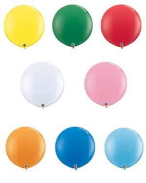 Lateksballong: Standard - 91cm - Per stk