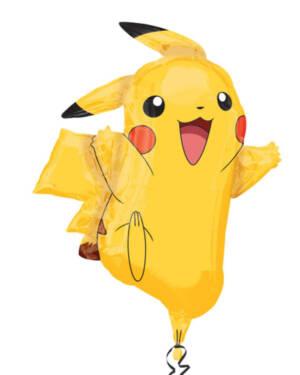 Folieballong: Pikachu - 62 x 78cm