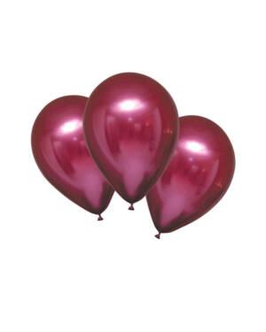 Lateksballonger (6stk): Satin Luxe Pomegranate - 27,5cm