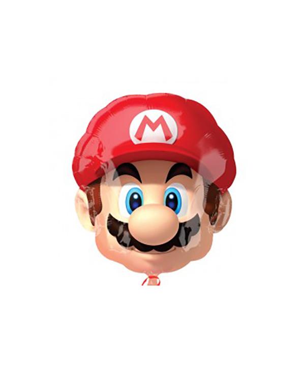 Folieballong: Mario - 55cm