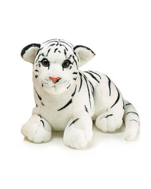Bamse: Hvit Tiger - 30cm