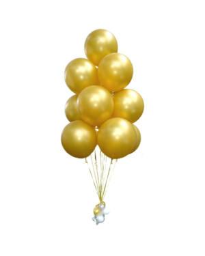Ballongbukett: You are Gold Baby! Jumbo