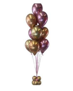 Ballongbukett: Pretty in Copper Gold & Mauve