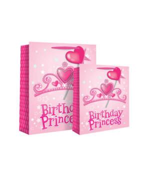 "Gavepose: ""Birthday Princess"" - Hjerter - Medium"