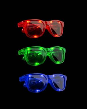 Briller: LED Lys