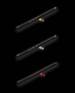 Konfettikanon: Flere farger - 80cm