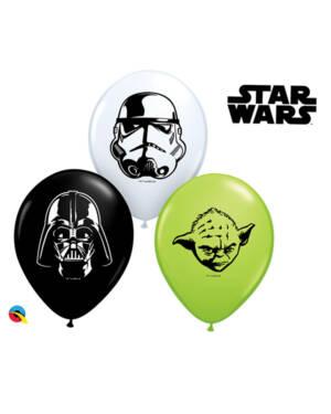 Lateksballonger (100stk): Star Wars - 28cm