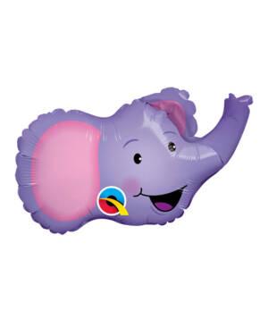 Folieballong: Glad Elefant - 36cm