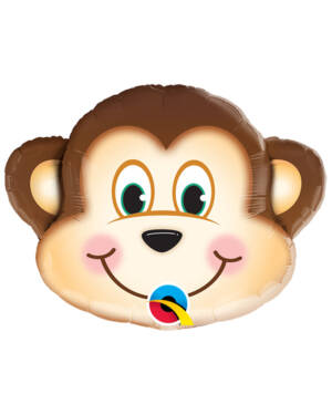 Folieballong: Glad Ape - 36cm