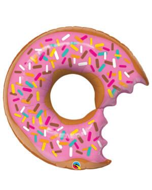 Folieballong: Donut - 91cm