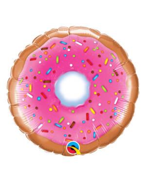 Folieballong: Donut - 23cm