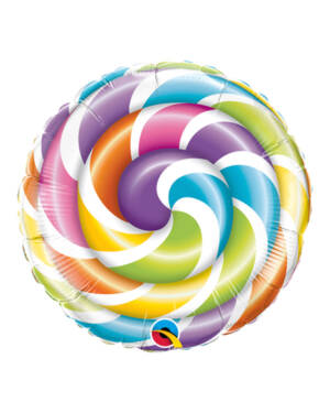 Folieballong: Lollipop - 23cm